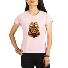 BIA Special Agent badge Peformance Dry T-Shirt
