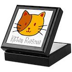 Kitten Rescue Keepsake Box