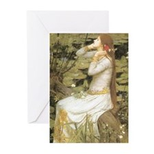 Ophelia by Waterhouse Greeting Cards (Pk of 20)