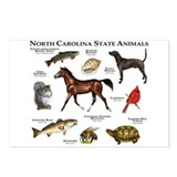 North Carolina State Animals Postcards (Package of