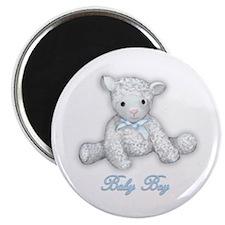 Baby Boy Lamb Magnet