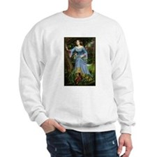 Ophelia by Waterhouse Sweatshirt