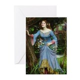Ophelia by Waterhouse Greeting Cards (Pk of 10)