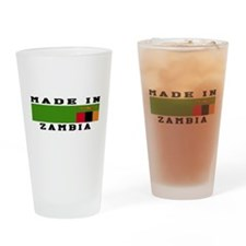 Zambia Made In Drinking Glass