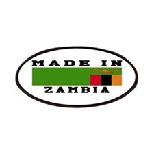 Zambia Made In Patches