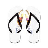 Easter Basket Brandy Flip Flops