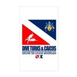 Dive Turks and Caicos Decal