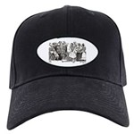 Calavera's Wild Party Black Cap