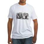 Calavera's Wild Party Fitted T-Shirt