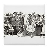 Calavera's Wild Party Tile Coaster