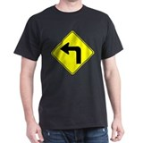 Left Turn Ahead T-Shirt