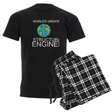 Worlds Greatest Structural Engineer Pajamas