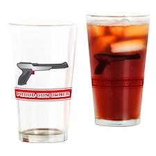 NES Duck Hunt Proud Gun Owner Drinking Glass