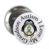 "Autism I Love My Grandson 2.25"" Button"
