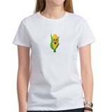 Corn See Tomorrow White T-Shirt
