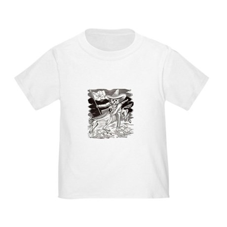 Calavera Zapatista Toddler T-Shirt