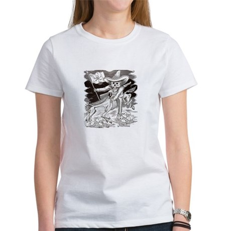 Calavera Zapatista Women's T-Shirt