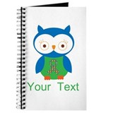 Personalized Autism Owl Journal