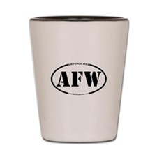 Air Force Wife (Oval) Shot Glass