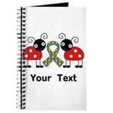 Personalized Autism Ladybug Journal