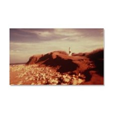 Montauk Lighthouse and Beach Car Magnet 20 x 12