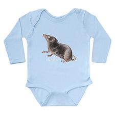 Short-Tailed Shrew Long Sleeve Infant Bodysuit