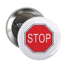 "Stop Sign 2.25"" Button (100 pack)"