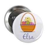 "Easter Basket Elsa 2.25"" Button (100 pack)"