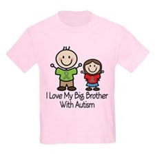Autism I Love Big Brother T-Shirt