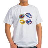 Hero Pow Bam Zap Bursts T-Shirt