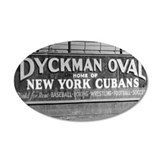 Dyckman Oval Wall Decal