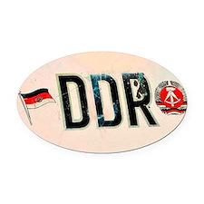 DDR Badge Car Magnet