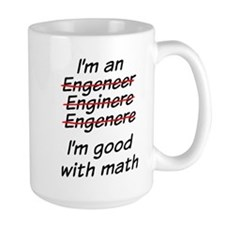 Cute Engineer Coffee Mug