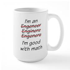 I am good with math Mugs