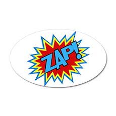 Hero Zap Bursts Wall Decal