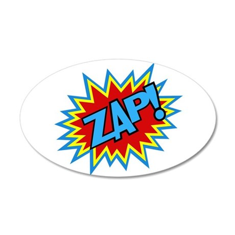 Hero Zap Bursts Wall Decal