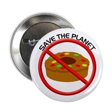 Save the Planet From Fruit Cake Button
