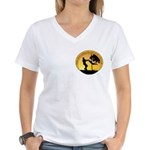 Mr. Rogers Child Hero Quote Women's V-Neck T-Shirt