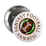 Fantasy Football Fanatic Button