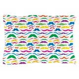 Mustach Color Pattern Pillow Case