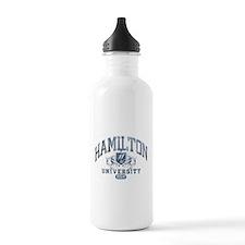 Hamilton Last Name University Class of 2014 Water