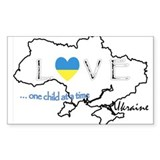Love Ukraine...(L) Decal
