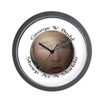 Bush/Marble Wall Clock