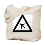 Airport Ahead Tote Bag