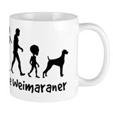 WEIMARANER Evolution - Coffee Small Mug