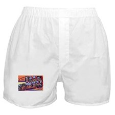 Palm Springs California Greetings Boxer Shorts