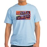 Palm Springs California Greetings Ash Grey T-Shirt