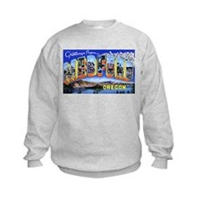Medford Oregon Greetings (Front) Sweatshirt
