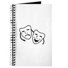 Comedy & Tragedy Mask Play Journal