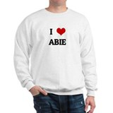 I Love ABIE Jumper
